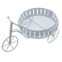 Yuvarlak Sepetli Desenli Metal Bisiklet